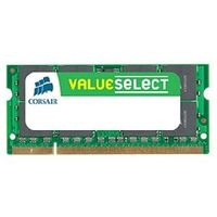 CORSAIR VALUE SELECT / 4GB / KIT 1x4GB / SO-DIMM / DDR3 / 1066MHz / CL7 / 1,5V / pro Notebooky