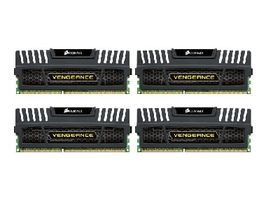 Corsair Vengeance Black / 32GB / 4x8GB KIT / DDR3 / 1600MHz / CL10 / 1,5 V / XMP / 240 pinů DIMM
