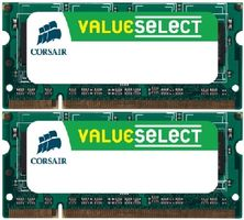 Corsair 4GB (2x2GB) SO-DIMM / DDR2 / 667MHz / CL5