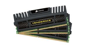 Corsair Vengeance 12GB DDR3 1600MHz / 3x4GB KIT / CL9 / 1.5V