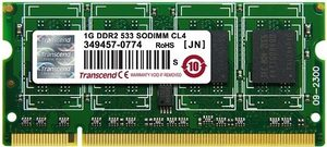 Transcend 1GB SO-DIMM DDR2 533MHz / CL5