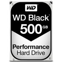 "WD Black 500GB / HDD / 3.5"" SATA III / 7 200 rpm / 64MB cache / 5y"