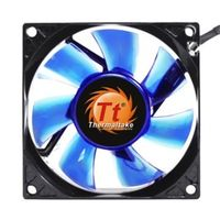 THERMALTAKE AF0053 Blue LED Fan 80mm / hydro / 2000 RPM