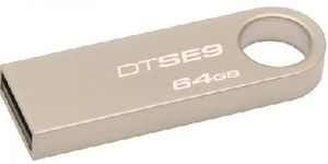 Kingston DataTraveler SE9 64GB / Flash Disk / USB 2.0 / kovový