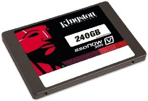Kingston Flash 240GB SSDNow V300 SATA 3 2.5 (7mm height) w/Adapter