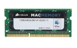 Corsair Mac 8GB SO-DIMM DDR3L 1600MHz / 1x 8GB KIT / 1.5V / Apple NTB