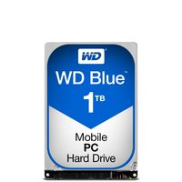 "WD Blue 1TB / HDD / 2.5"" SATA III / 5 400 rpm / 8MB cache / 9.5mm / 2y"