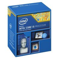Intel Core i5-4670 @ 3.4GHz / TB 3.8GHz / 4C4T / 256kB, 1MB, 6MB / HD 4600 / 1150 / Haswell / 84W