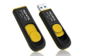 ADATA UV128 16GB / Flash Disk / USB 3.0 / žlutá
