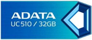 ADATA Choice UC510 32GB / Flash Disk / USB 2.0 / modrá