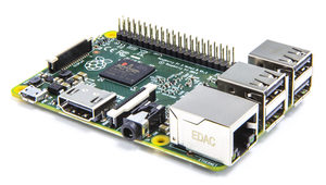 Raspberry PI 2 Model B / Broadcom BMC2836 ARMv7 – 900MHz / 1 GB / HDMI