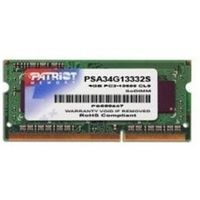 Patriot 4GB SO-DIMM DDR3 1333MHz / 1x4GB / pro ultrabook