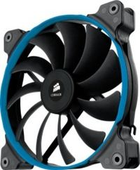 Corsair AF140 Quiet Edition / 140 mm / Hydraulic Bearing / 24 dB @ 1150 RPM / 115.2 m3h / 3-pin