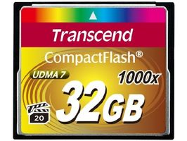 Transcend Compact Flash 32GB Ultimate / CF / 32GB / 1000x