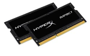 HyperX Impact 8GB DDR3L 1600MHz / Kit 2 x 4GB / CL9 / 1,35 V / SO-DIMM