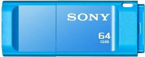 SONY USB Flash disk Micro Vault X 64 GB / USB 3.0 / modrá