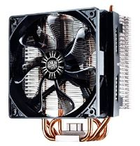 Cooler Master Hyper T4 / 120 mm / Rifle Bearing / 31.6 dB @ 1800 RPM / 70 CFM / Intel + AMD