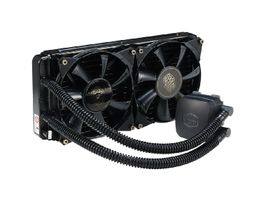 Cooler Master Nepton 280L / 2x 140 mm / Rifle Bearing / 39 dB @ 2000 RPM / 122.5 CFM / Intel + AMD