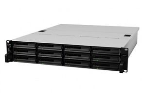 Synology RackStation RS3614xs+ / 12x HDD / Intel QC @3.3GHz / 8GB RAM / 2x USB 2.0 / 2x USB 3.0 / 4x GLAN