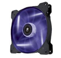 Corsair Air Series AF140 Purple Quiet Edition / Ventilátor 140 mm / 25 dBA / Purpurová LED / Černo - bílý