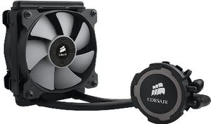 Corsair Hydro H75 / 2x 120 mm / Hydraulic Bearing / 31.4 dB @ 2000 RPM / 54 CFM / Intel + AMD