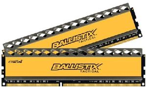 CRUCIAL Ballistix Tactical 16GB / 2x8GB / DDR3 / 1600MHz / PC3-12800 / CL8-8-8-24 / 1.5V / Black PCB