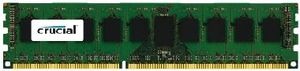 Crucial 8GB DDR3 ECC Unbuffered / 1600Hz / PC3-12800 / CL11 / 1.35V/1.50V Dual Voltage