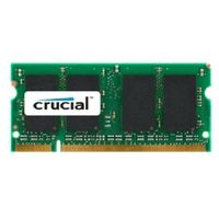Crucial 1GB DDR SO-DIMM / 333MHz / PC-2700 / CL2.5 / 2.50V