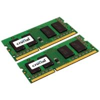 Crucial 4GB / 2x2GB / DDR3 SO-DIMM / 1600MHz / PC3-12800 / CL11 / 1.35V/1.50V Dual Voltage