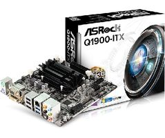 ASRock Q1900-ITX / Intel Quad-Core J1900 2 GHz / 2xDDR3 / VGA+HDMI+DVI / Intel HD / SATA III / mini-ITX