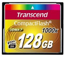 Transcend Compact Flash 128GB Ultimate / CF / 128GB / 1000x