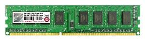 Transcend JetRam 1GB DDR3 1333MHz / 128Mx8 / CL9