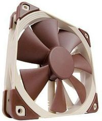 Noctua NF-F12 PWM / 120 mm / SSO2 Bearing / 22.4 dB @ 1500 RPM / 93.4 m3h / 4-pin