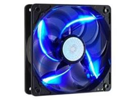 Cooler Master SickleFlow 120 LED Blue / 120 mm / Sleeve Bearing / 19 dB @ 2000 RPM / 3-pin