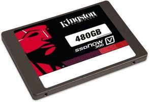 "Kingston SSDNow  V300 480GB / SSD / 2.5"" / SATA III / MLC / R: 450MBs / W: 450MBs / Interní"