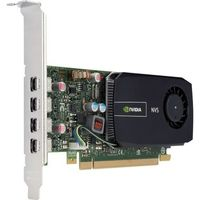 HP NVIDIA Quadro NVS 510 2GB / nVidia Quadro NVS 510 / 2GB / PCIe x16 Graphics Card / 4x miniDisplay Port