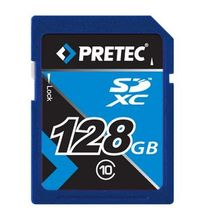 Pretec / SDXC / 128 GB / class 10 / Secure Digital eXtended Capacity