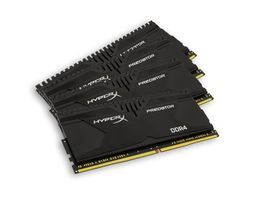 Kingston Predator Series XMP  16GB / 4x4GB / 2666MHz / DDR4 / Non-ECC / CL13
