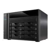 Asustor AS5008T / 8x HDD / Intel Celeron DC @2.41GHz / 1GB RAM / HDMI 1.4a / 3x USB 3.0 / 2x USB 2.0 / 4x GLAN
