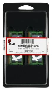 Rozbaleno - HyperX 8GB SO-DIMM DDR3 1600MHz / 2x4GB KIT / CL9 / 1.5V  / rozbaleno