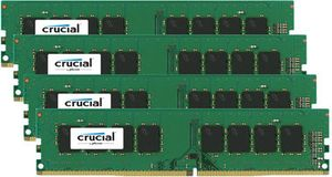 Crucial 4x4GB / 2133MHz / DDR4 / CL15 / Single Ranked / UDIMM / 1.2V