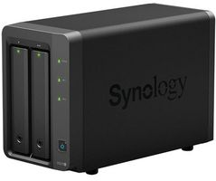 Synology DiskStation DS215+ / 2x HDD / Annapuma DC @1.4GHz / 1GB RAM / 2x USB 3.0 / eSATA / 2x GLAN