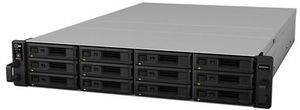 Synology RackStation RS18016xs+ / 12x HDD / Intel Xeon E3-1230v2 QC @3.3GHz / 8GB ECC DDR3 / 4x USB / 2x EPort / 4x GLAN