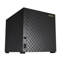 Asustor AS1004T / 4x HDD / Marvell ARMADA-385 1GHz / 512MB RAM / 2x USB 3.0 / GLAN / výprodej