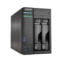 Asustor AS6202T / 2x HDD / Intel Celeron N3150 1.6GHz / 4GB RAM / 3x USB 3.0 / 2x USB 2.0 / 2x GLAN / HDMI
