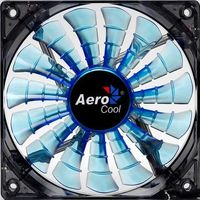 AEROCOOL Shark Fan / 140 mm / Ventilátor / Blue Edition