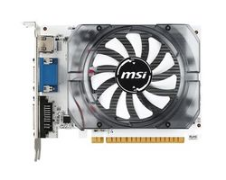MSI N730-4GD3V2 / GeForce GT 730 750MHz / 4GB DDR3 1000MHz / 128 bits / PCIe 2.0 / DVI+HDMI+VGA