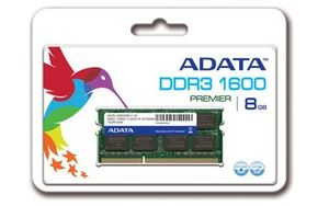 ADATA 2GB / DDR3 / 1600MHz / CL11 / SO-DIMM