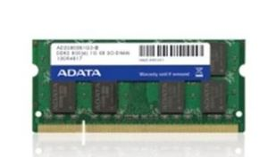 ADATA 1GB / DDR2 / 800MHz / CL6 / SO-DIMM / retail