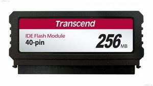 Transcend 256MB IDE PATA Flash Module (40Pin Vertical)